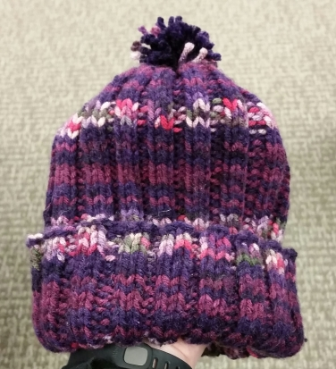 child's knit hat, winter hat