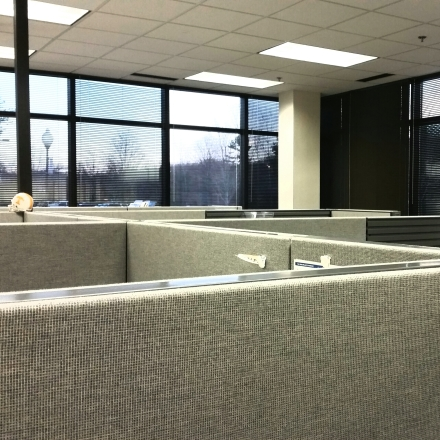 cubicle, office