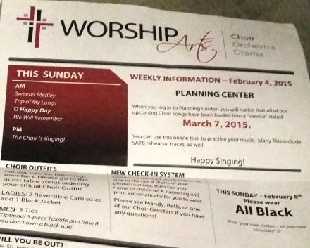 singing, choir, church